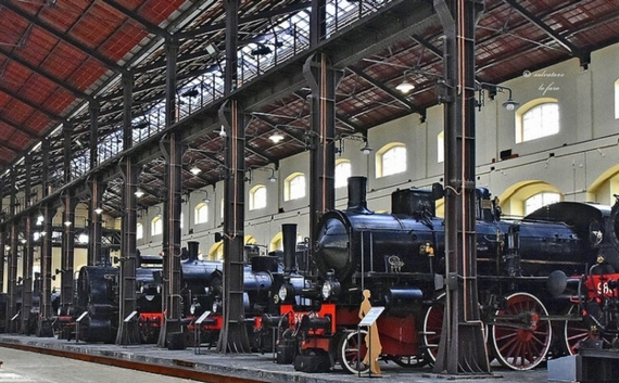 PIETRARSA museo locomotive 570