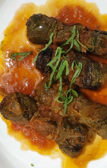 salsicce con sugo osteria dei sani 570