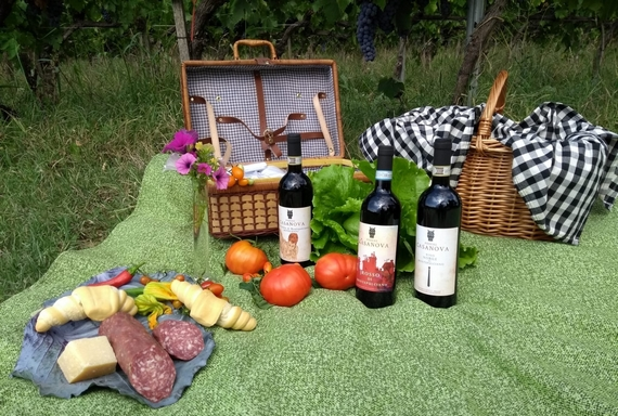 Podere Casanova picnic 570