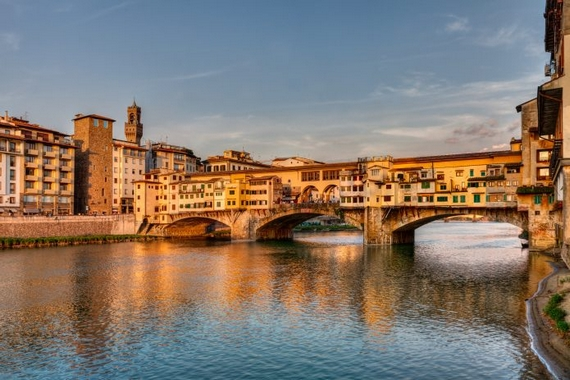 Ponte Vecchio2 firenze golden view 570